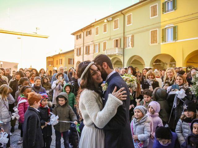Il matrimonio di Dario e Anna a San Martino in Rio, Reggio Emilia 18