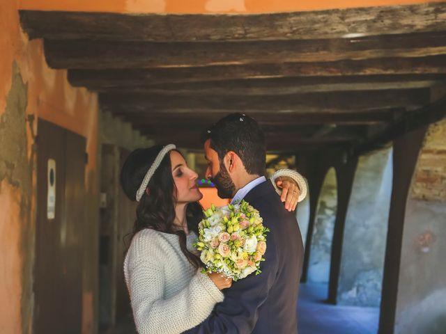 Il matrimonio di Dario e Anna a San Martino in Rio, Reggio Emilia 19
