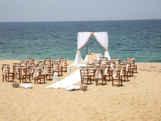 Il matrimonio di Massimiliano e Jessica a Arbus, Cagliari 16