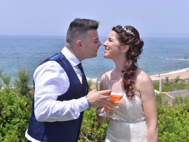 Il matrimonio di Massimiliano e Jessica a Arbus, Cagliari 1