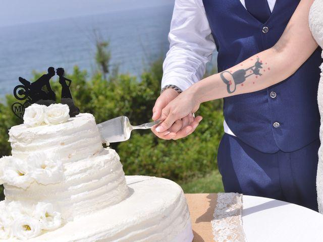 Il matrimonio di Massimiliano e Jessica a Arbus, Cagliari 23