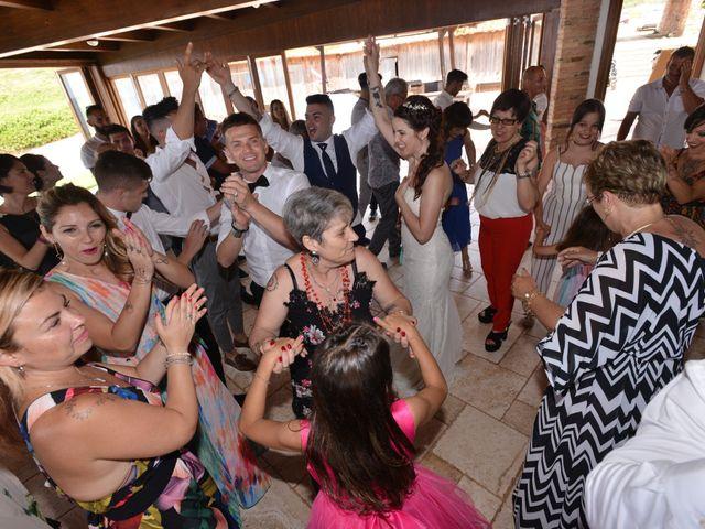 Il matrimonio di Massimiliano e Jessica a Arbus, Cagliari 25