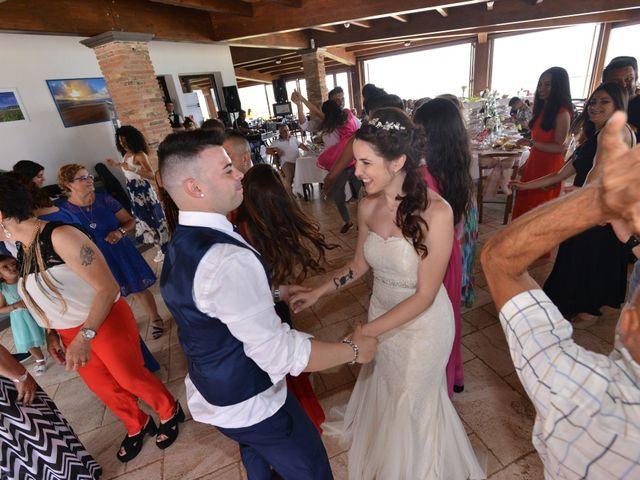 Il matrimonio di Massimiliano e Jessica a Arbus, Cagliari 26