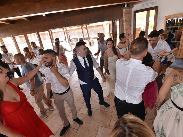 Il matrimonio di Massimiliano e Jessica a Arbus, Cagliari 27