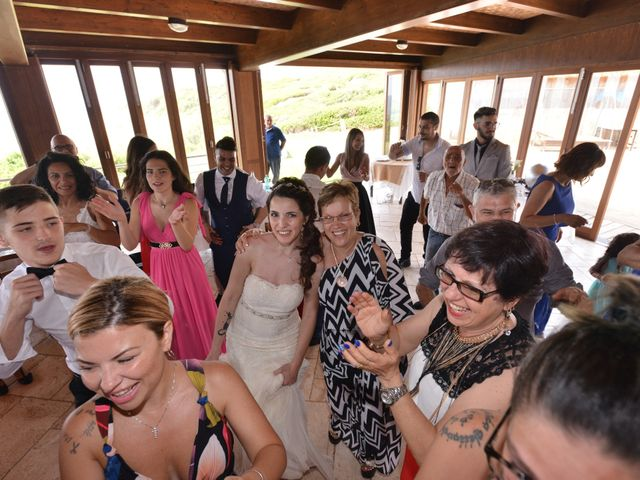 Il matrimonio di Massimiliano e Jessica a Arbus, Cagliari 28