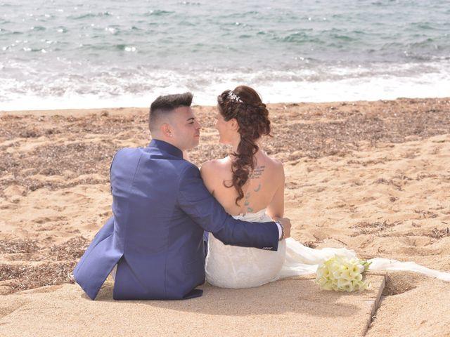 Il matrimonio di Massimiliano e Jessica a Arbus, Cagliari 30
