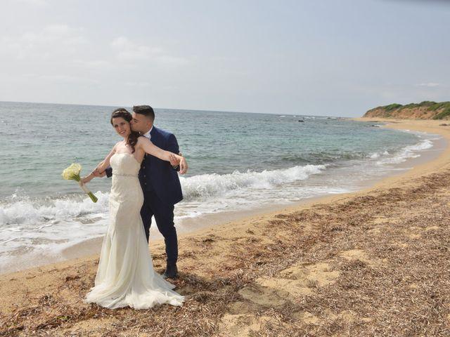 Il matrimonio di Massimiliano e Jessica a Arbus, Cagliari 32