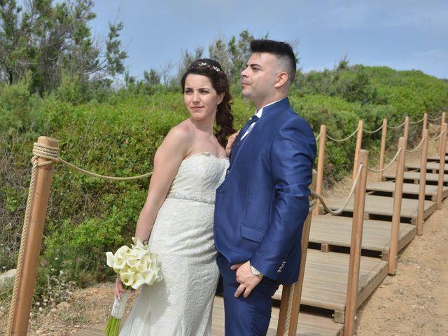 Il matrimonio di Massimiliano e Jessica a Arbus, Cagliari 36
