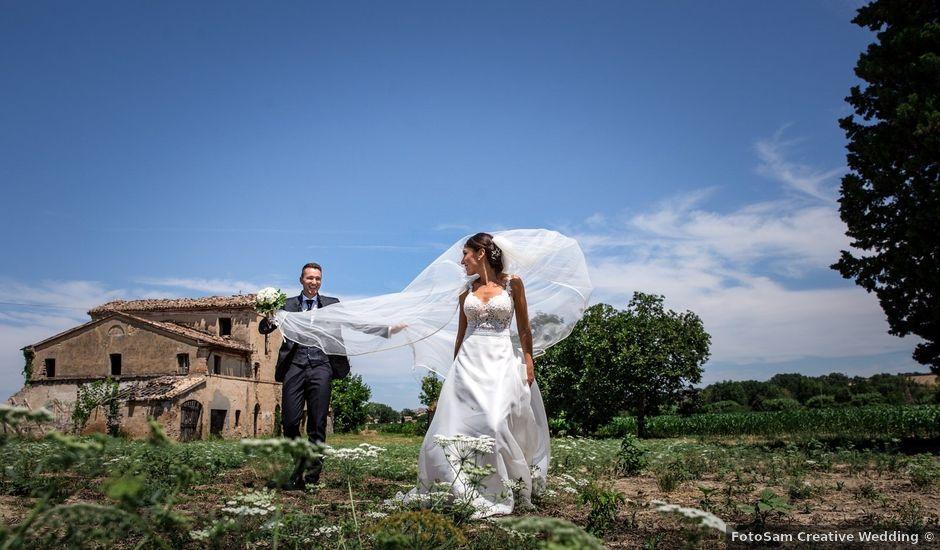 Il matrimonio di Lorenzo e Marta a Macerata, Macerata