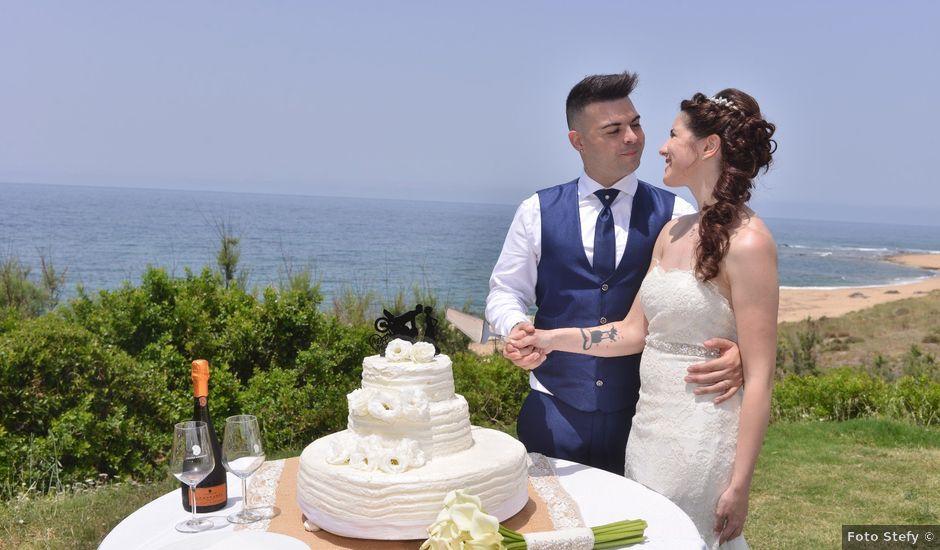 Il matrimonio di Massimiliano e Jessica a Arbus, Cagliari