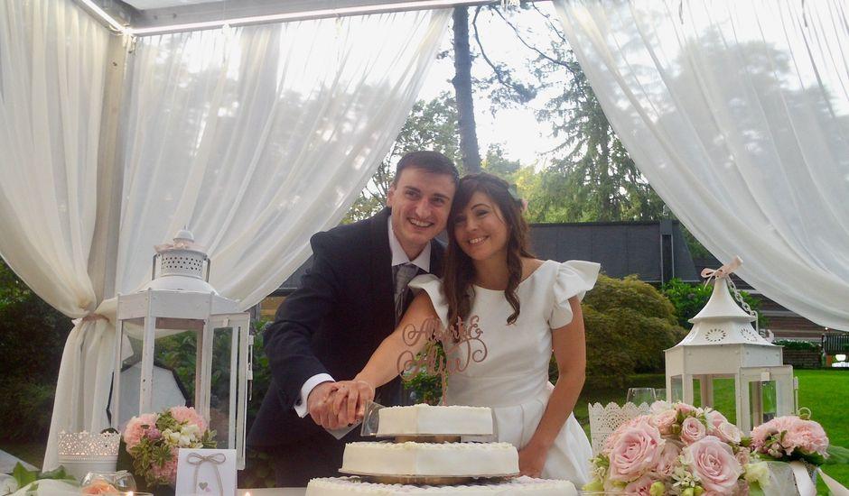 Il matrimonio di Alberto e Alice a Beregazzo con Figliaro, Como
