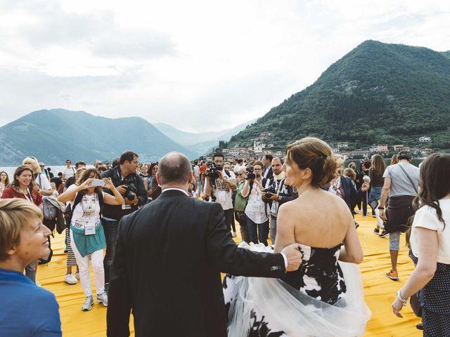 Il matrimonio di Antonello e Mariafrancesca a Monte Isola, Brescia 26
