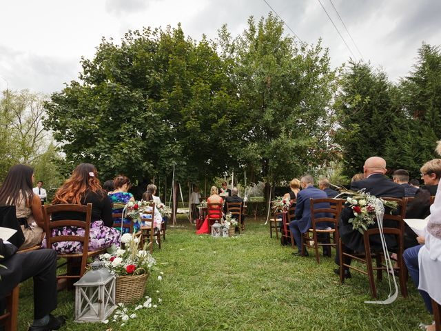Il matrimonio di Alessio e Francesca a Concorezzo, Monza e Brianza 30