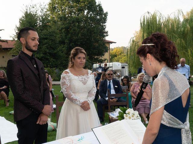 Il matrimonio di Nicholas e Debora a Trezzo sull'Adda, Milano 28