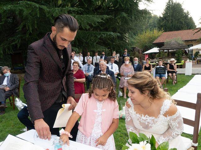 Il matrimonio di Nicholas e Debora a Trezzo sull'Adda, Milano 34