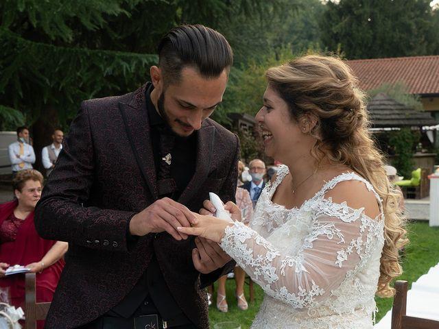 Il matrimonio di Nicholas e Debora a Trezzo sull'Adda, Milano 38