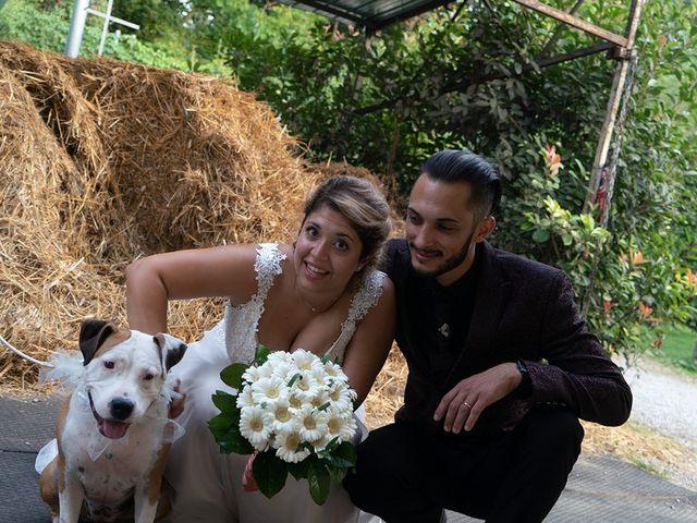 Il matrimonio di Nicholas e Debora a Trezzo sull'Adda, Milano 46