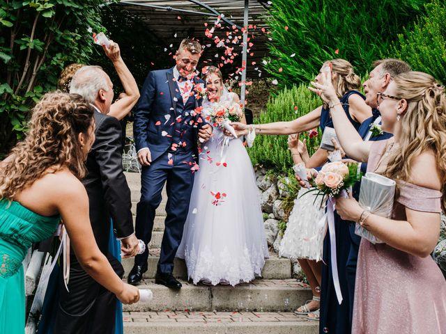 Il matrimonio di Sara e Mirko a Almè, Bergamo 35