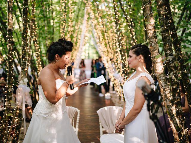 Il matrimonio di Giorgia e Eleonora a Scandriglia, Rieti 28