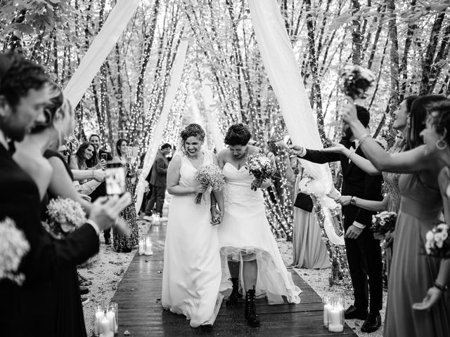 Il matrimonio di Giorgia e Eleonora a Scandriglia, Rieti 32