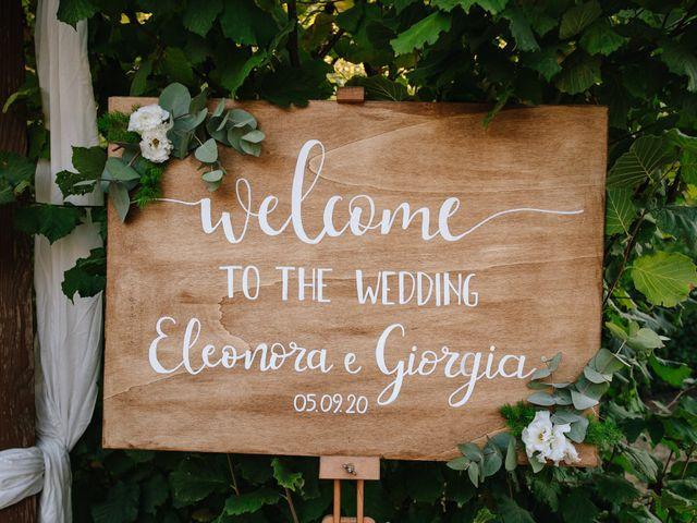 Il matrimonio di Giorgia e Eleonora a Scandriglia, Rieti 34