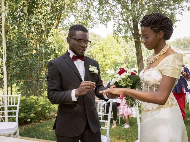Le nozze di Vally e Chigozie