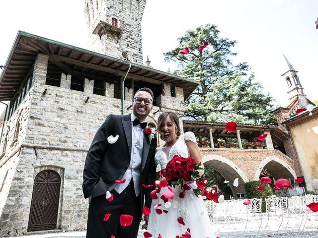 Il matrimonio di Nicola e Anna a Trescore Balneario, Bergamo 50