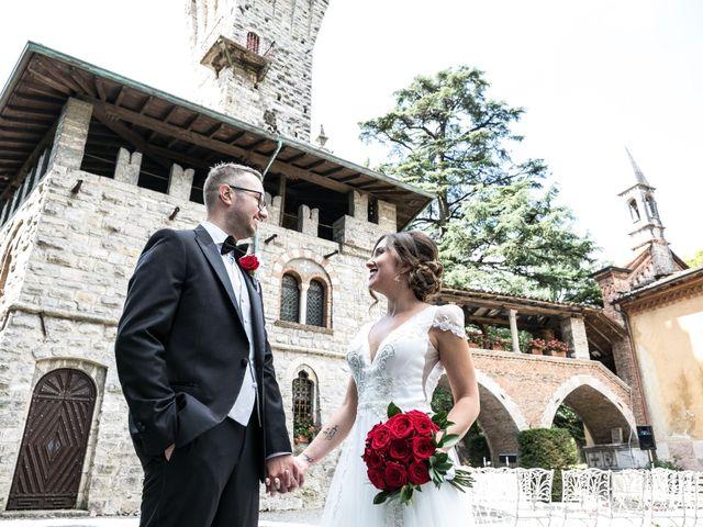 Il matrimonio di Nicola e Anna a Trescore Balneario, Bergamo 56