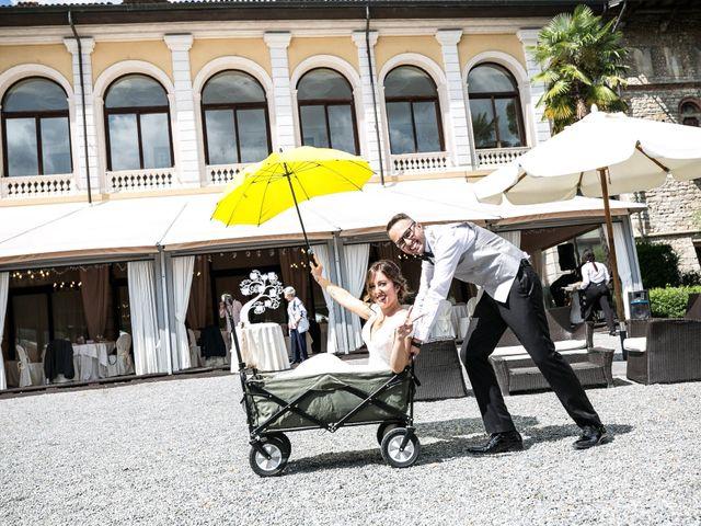 Il matrimonio di Nicola e Anna a Trescore Balneario, Bergamo 90