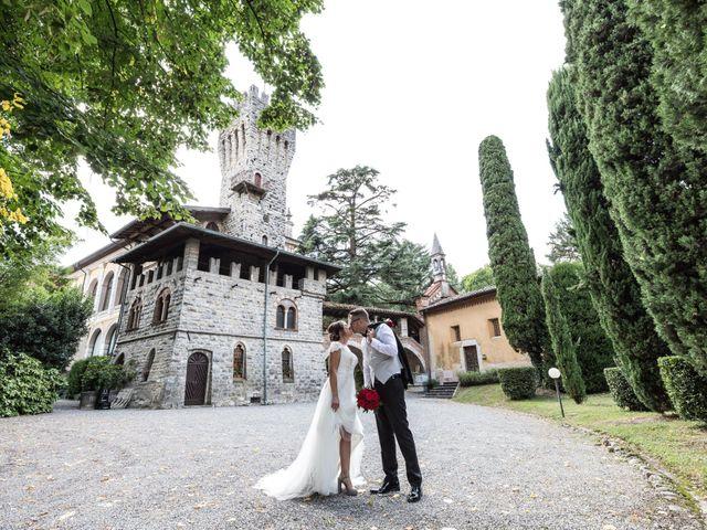 Il matrimonio di Nicola e Anna a Trescore Balneario, Bergamo 144