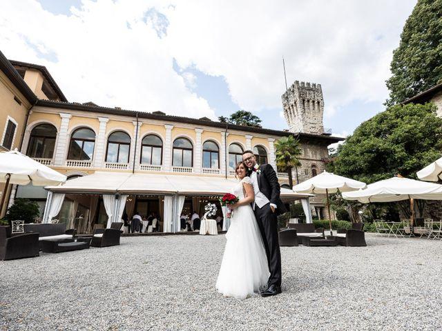 Il matrimonio di Nicola e Anna a Trescore Balneario, Bergamo 173