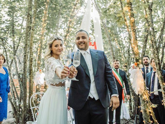 Il matrimonio di Mattia e Raffaella  a Scandriglia, Rieti 8