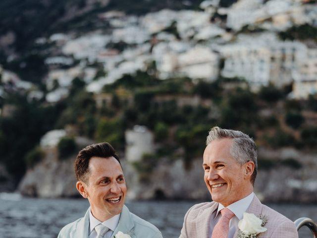 Il matrimonio di Adam e Kelly a Positano, Salerno 3