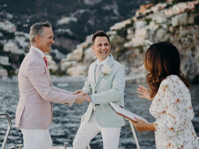 Il matrimonio di Adam e Kelly a Positano, Salerno 7