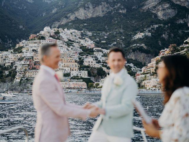 Il matrimonio di Adam e Kelly a Positano, Salerno 8
