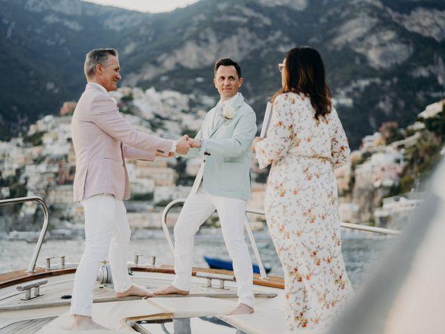Il matrimonio di Adam e Kelly a Positano, Salerno 10