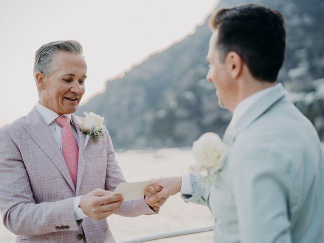 Il matrimonio di Adam e Kelly a Positano, Salerno 12
