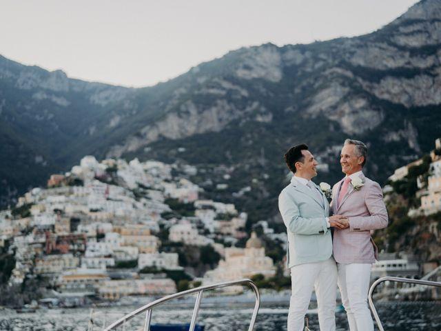 Il matrimonio di Adam e Kelly a Positano, Salerno 1