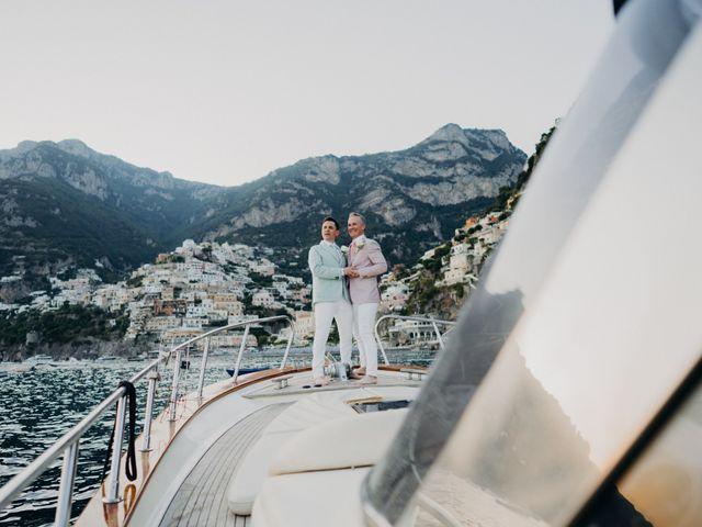 Il matrimonio di Adam e Kelly a Positano, Salerno 25