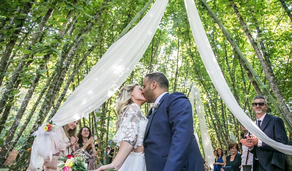 Il matrimonio di Mattia e Raffaella  a Scandriglia, Rieti