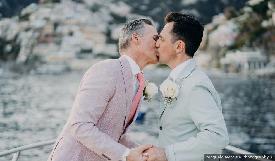 Il matrimonio di Adam e Kelly a Positano, Salerno