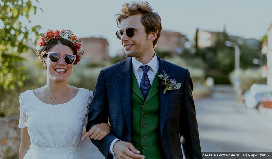 Il matrimonio di Guillaume e Barbara a Sinalunga, Siena