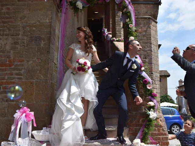 Il matrimonio di Carlo e Silvia a Castell'Arquato, Piacenza 16