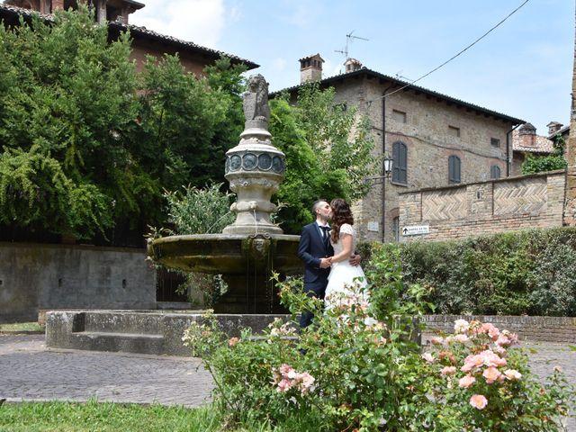 Il matrimonio di Carlo e Silvia a Castell'Arquato, Piacenza 18