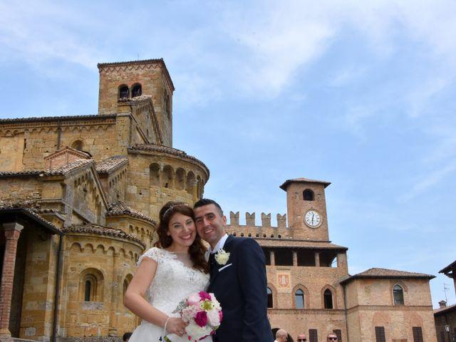 Il matrimonio di Carlo e Silvia a Castell'Arquato, Piacenza 21