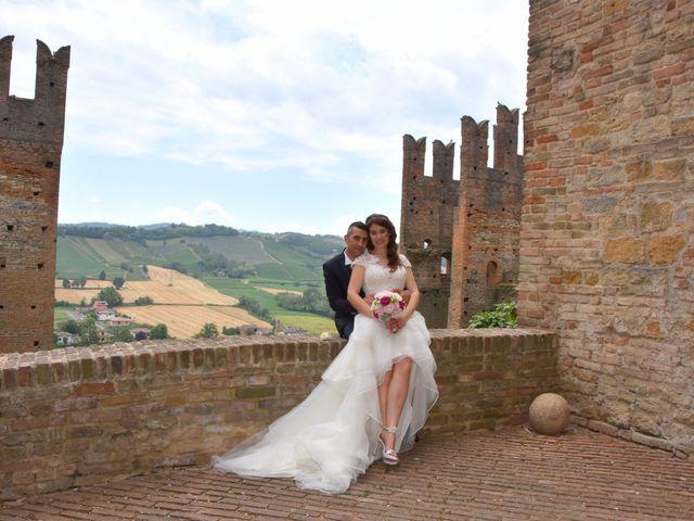 Il matrimonio di Carlo e Silvia a Castell'Arquato, Piacenza 25