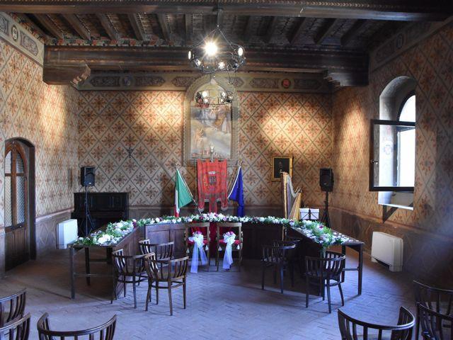 Il matrimonio di Carlo e Silvia a Castell'Arquato, Piacenza 26