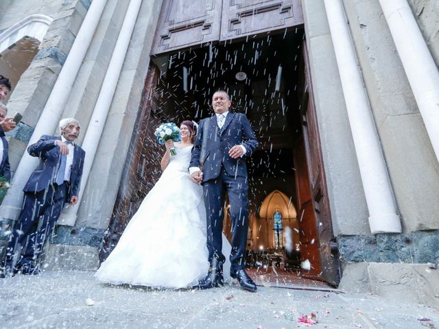 le nozze di Agata e Luca