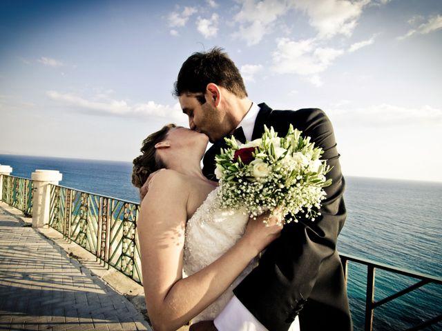 le nozze di Alexandra e Carlo