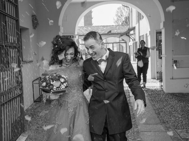 Il matrimonio di Alessandro e Elisa a Garbagnate Milanese, Milano 12